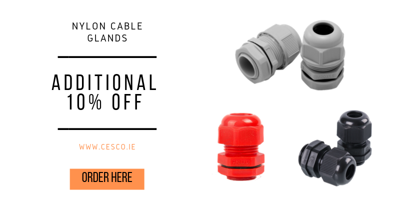 10% Cable Glands
