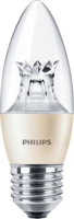 PHILIPS 6 WATT LED  E27 CL CANDLE DIM 2700K (40W)