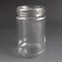 290ml Round glass jar