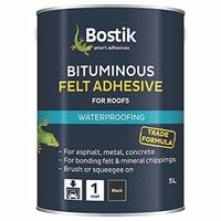 BITUMINOUS FELT ADHESIVE 5LTR BLACK