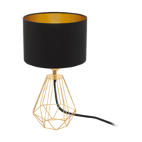 Gold And Black Table Lamp Small | LV1902.0021