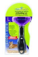 Furminator Short Hair Deshedding Tool for Large Cats x 1