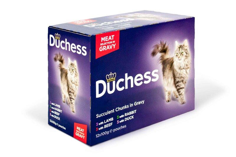 Duchess Meat in Gravy Pouches 4 x 12 x 100g