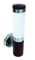ONE Light Teak Stainless Steel 316 Wall Bracket 15W E27 IP44