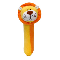 Lion Squeakaboo toy for babies