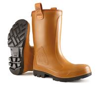 DUNLOP C462743 Rigair PU Fur Lined Boot S5 CI