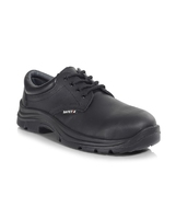Aries PU/Rubber Gibson Safety Shoe, Black