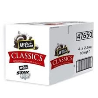 Chips (A Grade) 3/8-McCain (Staycrisp) (4x2.27kg)