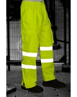 INSTOW ISO 20471 CL 1 BREATHABLE CARGO OVERTROUSER