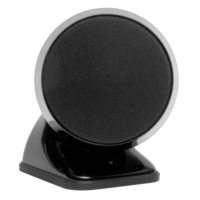 TruAudio SAT3-BK Premium round Satellite Speaker