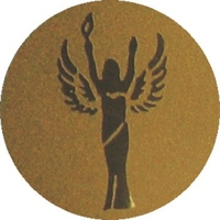 Victory Angel (25mm Gold Centre)