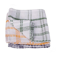 Wilsons Check Cotton Dish Cloth