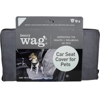 Henry Wag Pet Single Car Seat Cover x 1