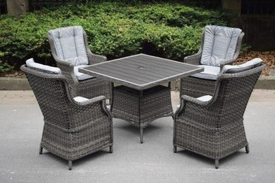 Aspen 4 Seater Square Set