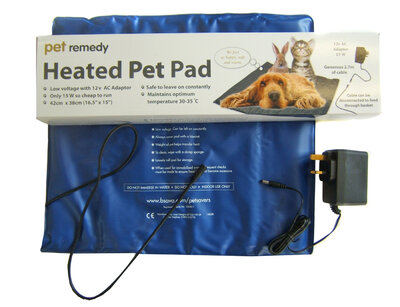 Pet Remedy Low Voltage Heated Pet Pad x 1