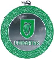 50mm Leinster Medallion (Silver)