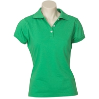 Ladies Neon Slim Fit Poly/Cotton Polo