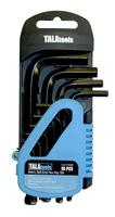 Tala 10pce Metric Hex Key Set