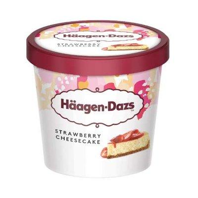 Ice Cream Strawberry Cheese Cake-Haagen Dazs-(8x500ml)