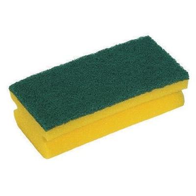Easigrip Sponge Scouring Pad Yellow/Green (10)