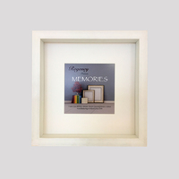 Memories Box Frame White 23 x 23cm