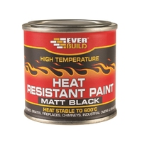 Everbuild Heat Resistant Paint 125ml