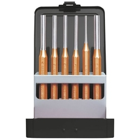 GEDORE RED R90200006 6pc PIN PUNCH SET