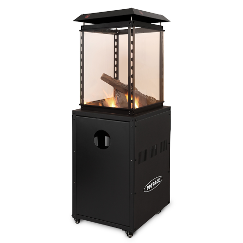 Outback Log Flame Gas Heater