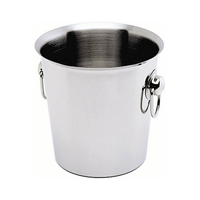 Wine Bucket Ring Handles Stainless Steel