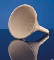 Hirsch Funnel Porcelain 18mm Diax50mm , With