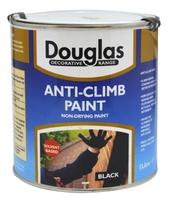 DOUGLAS ANTI CLIMB PAINT BLACK 2.5LTR