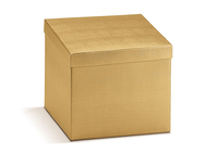 BOX GIFT & LID 300X300X120MM GOLD