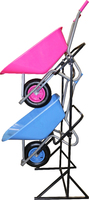 Wheelbarrow Display Rack