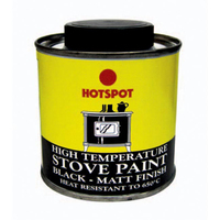 Hot Spot Stove Paint Matt 200ml Tin