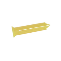 1141001 TCP1 Clip Plug Yellow (Pack 100)