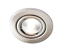 Robus GU10 Directional Downlight Brushed Chrome