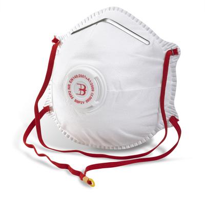 Disposable Valved P2 Particulate Respirator
