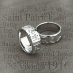 sterling silver history of ireland ring s2476 on History of Ireland theme background