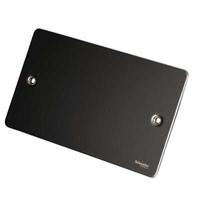 Flat Plate Black Nickel 2G BLANK PLATE|LV0701.0620