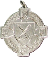 34mm Hurling Medal - Silver