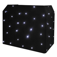 Equinox DJ Booth LED Starcloth System, CW