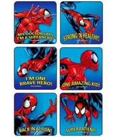 MEDIBADGE - SPIDER-MAN STICKERS