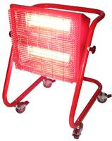 Bison Red Rad Heater