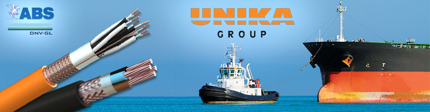 UNIKA - DNV-GL & ABS Approved Shipboard Cables