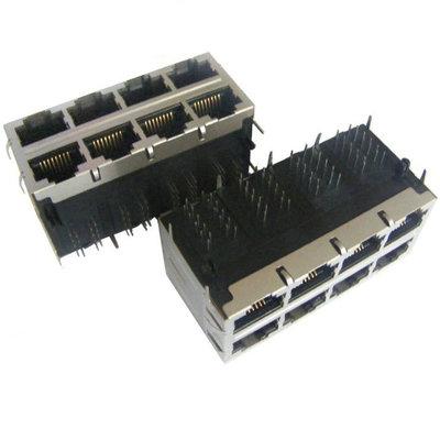 2X4 port 1000 Base-T RJ45 with LED & POE+