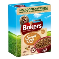 Bakers Complete Small Dog - Beef & Veg 1kg