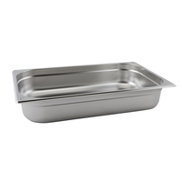 Gastronorm Container 1/1 40mm Deep S/S