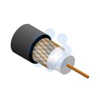 RG59 Data / CCTV Cable Black 100mtr Reel