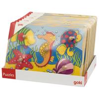 Colourful peg puzzle, 8 per display.
