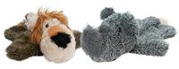 Dog Life Cuddly Rhino & Lion x 4